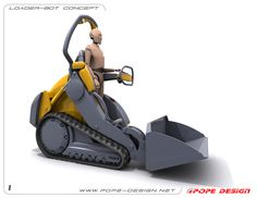 Loader-Bot, Jon Pope  Industrial Designer — Ridge, NY