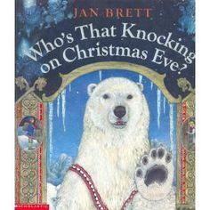 Who's That Knocking on Christmas Eve? by Jan Brett http://smile.amazon.com/dp/0439576962/ref=cm_sw_r_pi_dp_.oAfvb0DTJRQ0