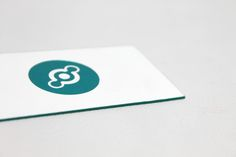 42pt foil-stamped and edge-painted letterpress business cards for San Francisco-based IOT developer Helium