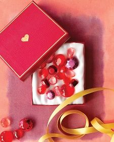 Make this beautiful Jewelry Box filled with Handmade Semiprecious Candy Gems