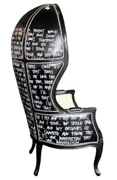 Jimmie Martin PORTER IMPERFECTION BALOON CHAIR...ok, i think i love this designer and Im getting inspired!!!!