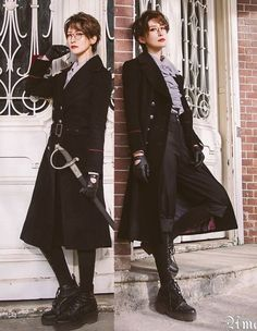 We create this page to list those preorder items which are going to be closed. If don't want to miss any preorder item of Taobao indie brands, it's the right place for you to get yourself updated. Clueless Outfits, Cool Outfits, Lolita Fashion, Boy Fashion, Butler Outfit, Victorian Style Clothing, Pose Reference Photo, Art Reference, Vintage Goth