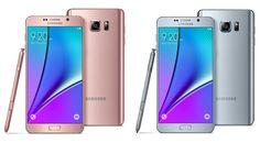 Samsung anuncia dos colores nuevos para el Galaxy Note 5