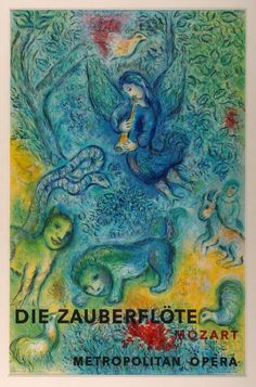 The Magic Flute, Marc Chagall