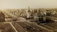 Park Avenue and 94th Street about 1882. © The Museum of the City of New York