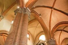 L'interno della Chiesa di Santa Brigida #piacenza #emiliaromagna
