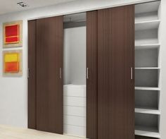 Here are some great ideas used by talented designers, homeowners, and renters to help solve your closet door and storage design challenges, Tags; categori Home decor # modern closet doors home door ideas for bedrooms Modern Closet Doors, Bedroom Closet Doors, Sliding Closet Doors, Wardrobe Doors, Sliding Wardrobe, Bathroom Closet, Closet Door Alternative, Door Alternatives, Creative Closets