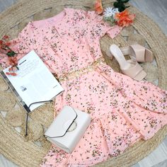 SAMARA DRESS €46.99 Samara, Floral Prints, Coral, Mini Skirts, Dresses, Style, Vestidos, Swag, Floral Patterns