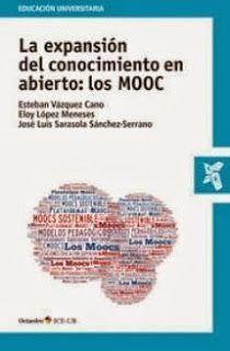 """Libro sobre los MOOC, """"La expansión del conocimiento en abierto: los MOOC"""". Conocimiento de los MOOC mediante el seguimiento de un libro de un catedrático. #LibroMOOC, #TeoriaMOOC"""