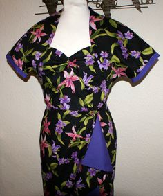 Vintage 1950s inspired repro bombshell Hawaiian by OuterLimitz, £95.00