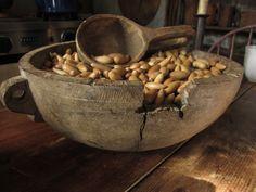 Fabulous treen bowl~