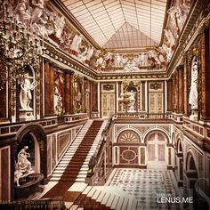 Herrenchiemsee New Palace – Lake Chiemsee, #Alemania