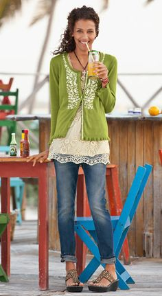 Embroidered Flowers - Shop by Outfit | Robert Redfords Sundance Catalog