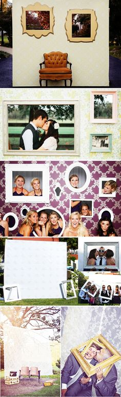 Adoro estas molduras! Rendem fotos super legais!   #wedding