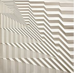 Artist Creates Mesmerizing Geometric Patterns By Folding Paper - DesignTAXI.com