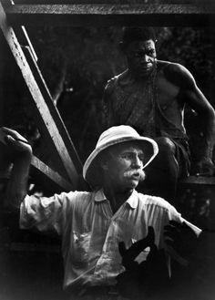 Albert Schweitzer 1954 | LIFE Behind the Picture: Albert Schweitzer in Africa, 1954 | LIFE.com
