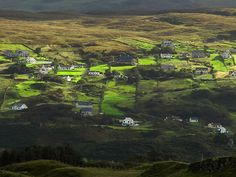 A valley in Donegal