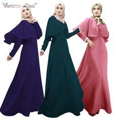 New Arrival Women Abaya Islamic Jilbab Arab Clothes Muslim Long Sleeve Maxi Dress Cloak Kaftan Abaya Style, Abaya Dubai, Cheap Formal Gowns, Habits Musulmans, Muslim Long Dress, Abaya Mode, Top Mode, Prom Dresses 2016, Long Dresses
