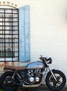 HONDA CB | Honda Motorcycle | Motorcylces | Honda | classic | vintage | custom | chrome | ride | street | Schomp Honda