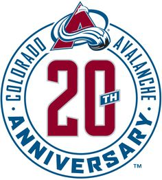 Colorado Avalanche Anniversary Logo (2016) -