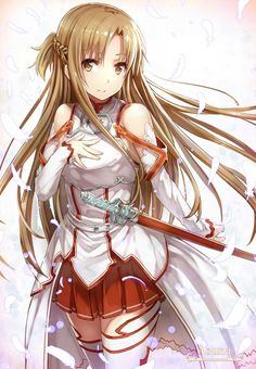 Sword Art Online, Asuna, by gabiran Find More Beautiful Wedding Dress at http://Nadhaweddingfashion.com