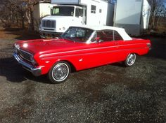 64 Ford Falcon---my first car! Only mine was a hard-top! I paid $400 for it.