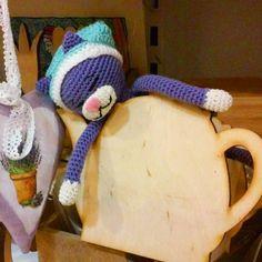 Сонный котик #аминеко как бы намекает:выпейте бодрящего чайкуа то будете как я #toy #handmade #crochet #amigurumis #amigurumi  #handmadetoy #вяжу #вяжутнетолькобабушки #вязание #крючком  #craft #art #instacrochet #амигуруми #рукоделие #хендмейд #weamiguru #t_v_r #toys_gallery #игрушкикрючком  #инставязание #homemade #своимируками #ручная_работа #toys_gallery #juliwoolly  #кот #кошка #арт #cat by juliwoolly