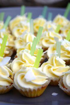 Paulas Frauchen: Pina‑Colada‑Cupcakes