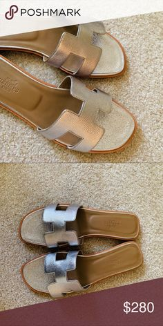 935d3d0dc63be Hermes slipper 39ue brand new new without box Hermes Shoes Slippers Hermes  Slippers