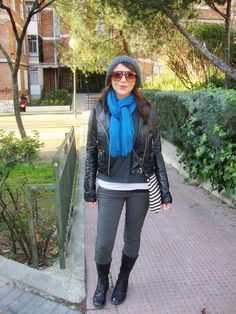 one of the outfits from the great travel wardrobe for winter  Travel Fashion Girl How to Pack for Europe's Budget Airlines