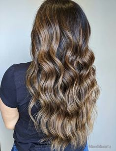Caramel Toffee Balayage @daniellelouisette Caramel Balayage, Toffee, Hair Color, Long Hair Styles, Beauty, Ideas, Sticky Toffee, Candy, Haircolor