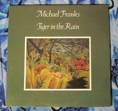 Michael Franks ~Tiger In The Rain (1979, Smooth Jazz LP Vinyl Record)$12