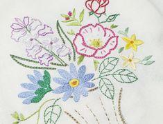 자수발란스 : 네이버 블로그 Napkins, Embroidery, Tableware, Needlepoint, Dinnerware, Dinner Napkins, Tablewares, Drawn Thread, Cut Work