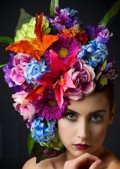 Chapeau de Fleurs