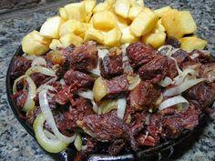 Carne de sol com mandioca (macaxeira) ... e tim tim p vcs                                                                                                                                                                                   Mais
