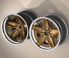 """bstarwheels: """" B-Star Strat forged 3 peice wheel. Taken from our custom forged 3 piece range the Strat shows how customers can use classic wheel design to influence a completely new (and unique) set..."""