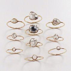 simple, imperfectly beautiful rings [designer?]