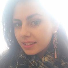 #selfie #selfieparticulier #smile #happy #hair #makeup #earring @Andreea Vaduva #bibabijoux #italianmodel #italiangirl #italystyle # - giusyesposito7's photo on Instagram - Pixsta