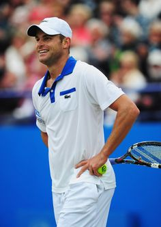 American tennis star Andy Roddick was known for his powerful serve and a wonderful sense of humor. He retired at the US Open in 2012. His fans are missing him.