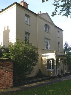Lord Byron's house in Southwell, Nottinghamshire
