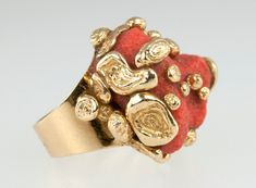 Cartier Coral Ring