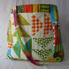 bag tutorial using a quilt block 52 quilt block pick up / patchwork posse
