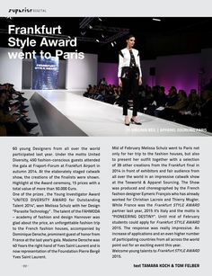 SUPERIOR DIGITAL March 2015  An exclusive Interview with TOKIO HOTEL and exclusive FASHION EDITORIALS from across the world   SUPERIOR is an international MAGAZINE featuring the creative scenes of fashion, design, lifestyle, art & culture from the most thrilling cities around the globe. SUPERIOR MAGAZINE stands for high-quality content that is a source of new insights and inspiration. SUPERIOR Magazine's sophisticated design provides an artistic showcase for all kinds of vanguard visual… Magazine Stand, Tokio Hotel, Young Designers, Fashion Editorials, Editorial Fashion, Cities, Globe, Interview, March