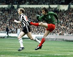Football 1974 FA Cup Final Wembley Stadium 4th May Liverpool 3 v Newcastle United 0 Liverpool...