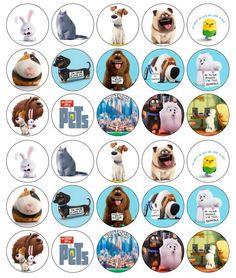 Http www ebay co uk itm 30x the secret life of pets 15 images edible