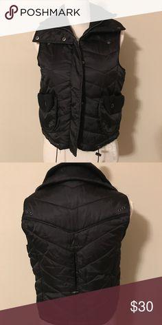 BCBG vest Black vest BCBGirls Jackets & Coats Vests