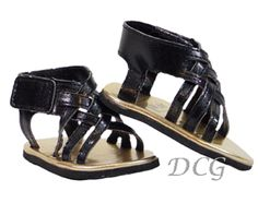 """NEW coral strappy summer sandals//shoes  fits 18/"""" AMERICAN FASHION GIRL DOLLS"""