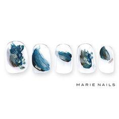 #マリーネイルズ #marienails #ネイルデザイン #かわいい #ネイル #kawaii #kyoto #ジェルネイル#trend #nail #toocute #pretty #nails #ファッション #naildesign #ネイルサロン #beautiful #nailart #tokyo #fashion #ootd #nailist #ネイリスト #ショートネイル #gelnails #instanails #newnail #blue #art ##秋ネイル