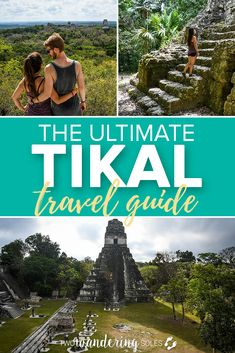 Whether you're backpacking through Central America or just have a short trip to Guatemala, visiting the ancient Mayan ruins of Tikal will surely be a highlight of your travels. Here's your ultimate Tikal travel guide. San Pedro Guatemala, Guatemala City, Tikal, Travel Guides, Travel Tips, Atitlan Guatemala, South America Travel, North America, Bus Travel