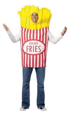 Fries adult costum hallowen
